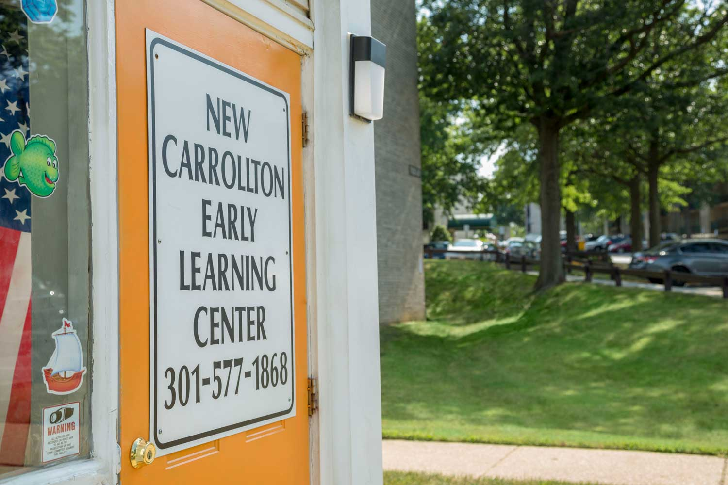Onsite daycare available at Heritage Square Apartments in New Carrollton, MD