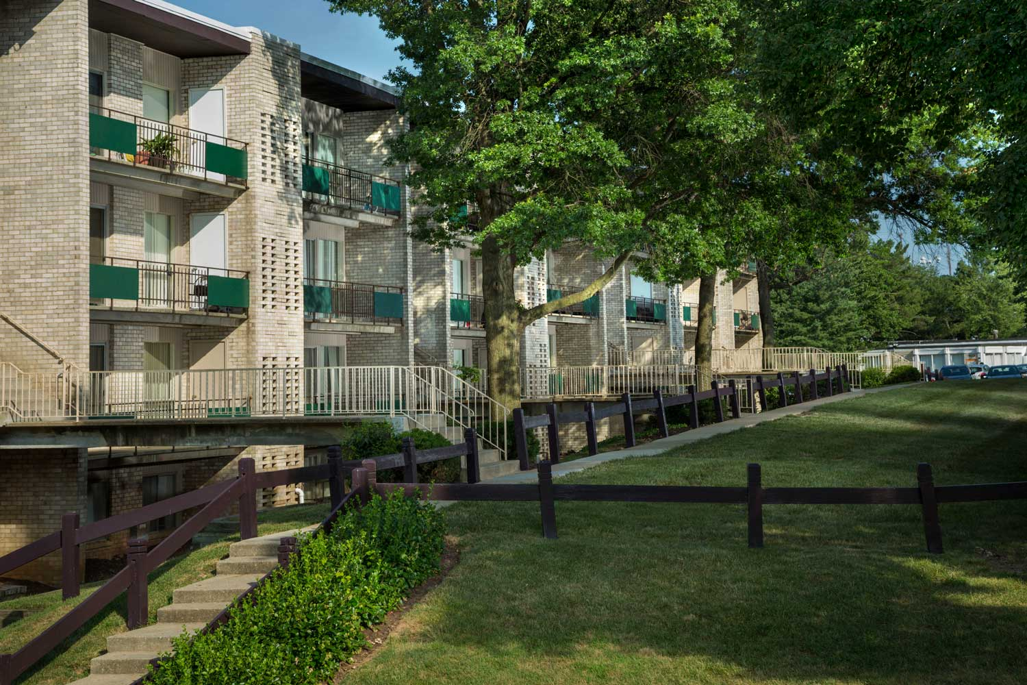 1, 2 and 3 bedroom apartments at Heritage Square Apartments in New Carrollton, MD