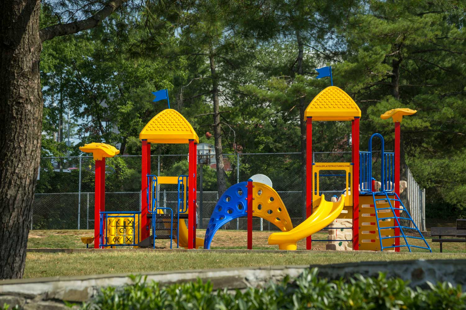 Onsite play area at Heritage Square Apartments in New Carrollton, MD