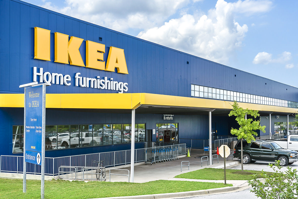 IKEA is 15 minutes from Heritage Square Apartments in New Carrollton, MD