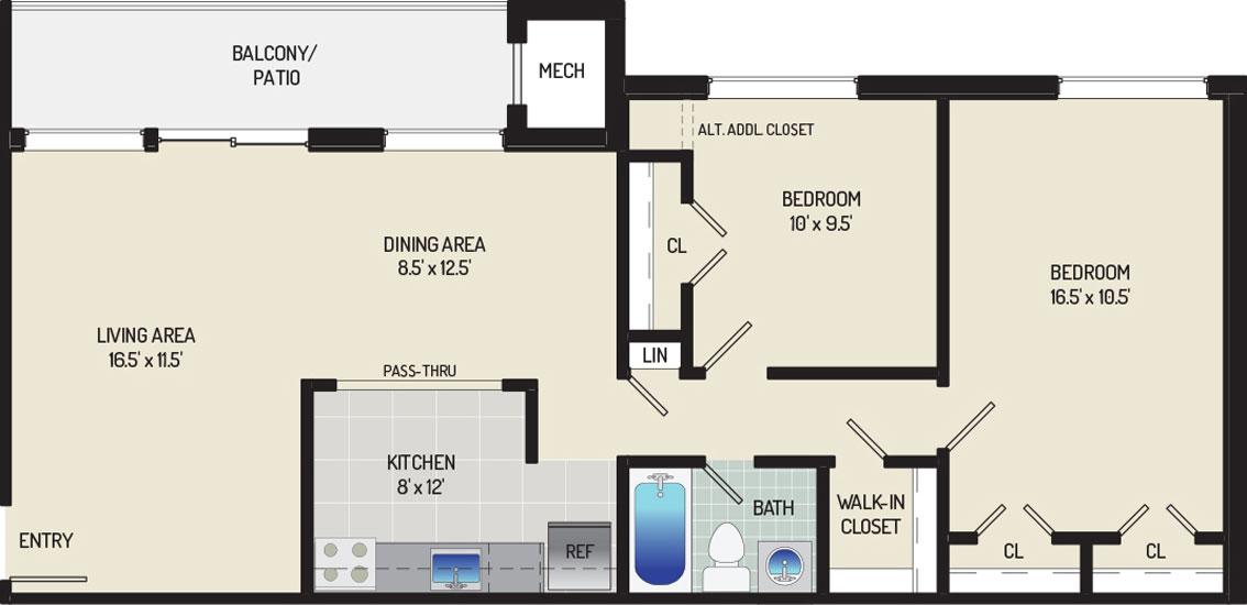 Heritage Square Apartments - Apartment 337713-101-E1