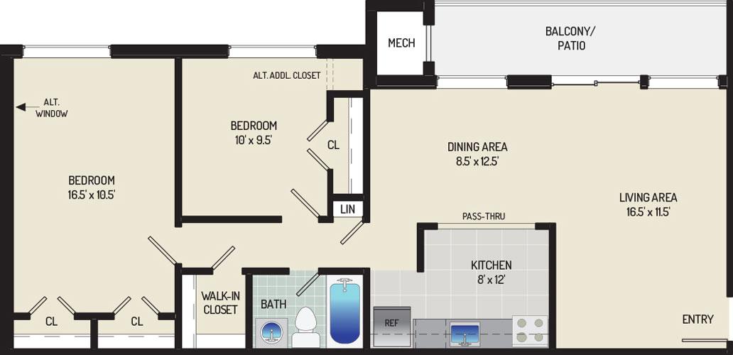 Heritage Square Apartments - Apartment 337713-102-E2