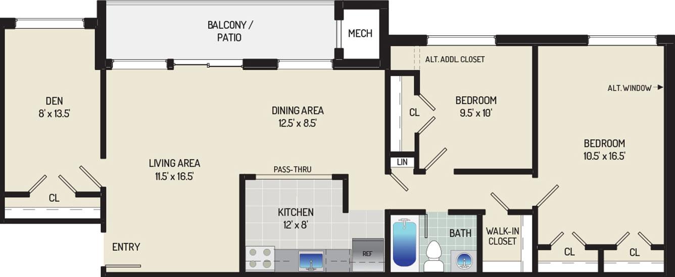 Heritage Square Apartments - Apartment 337713-0T3-K1