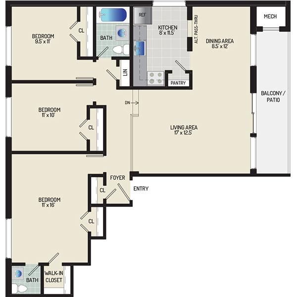 Heritage Square Apartments - Apartment 337711-103-L