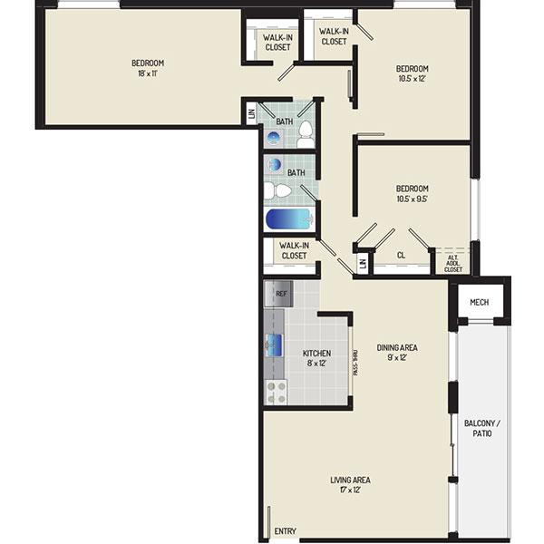 Heritage Square Apartments - Apartment 337737-304-M