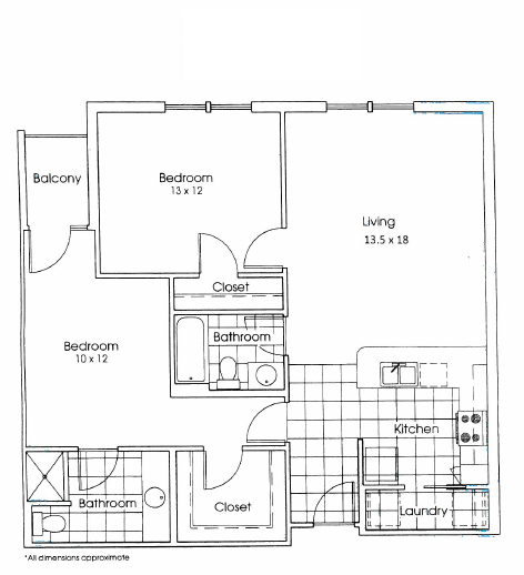 Heritage Village Apartments - Floorplan - Austin