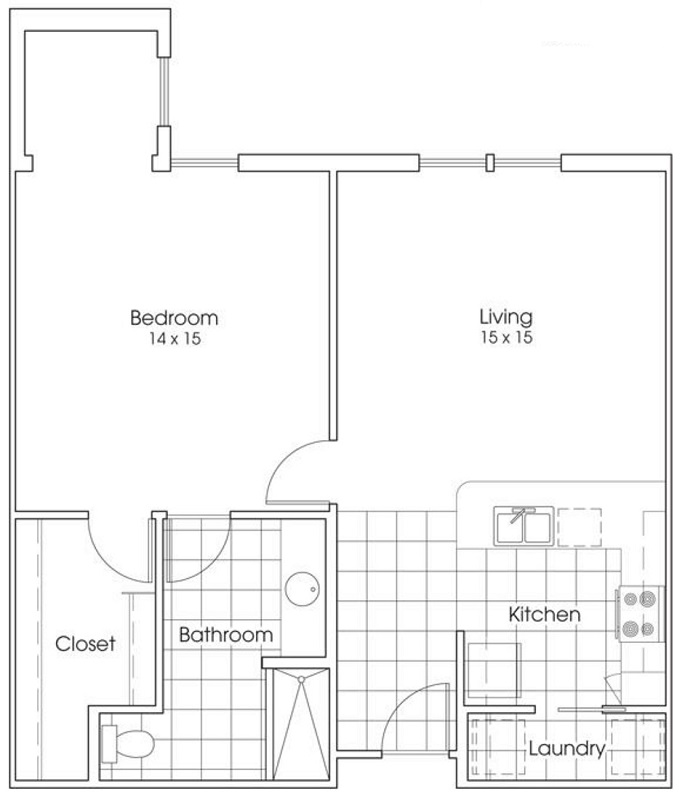 Heritage Village Residences 55+ Community - Floorplan - Mockingbird