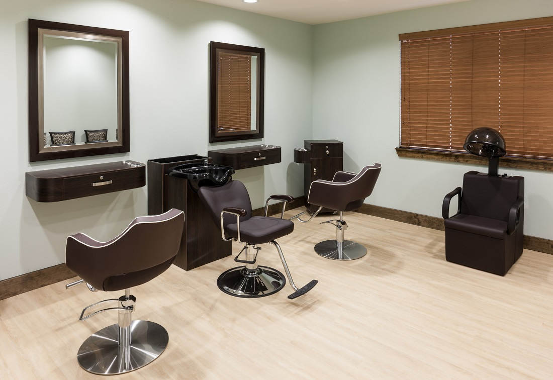 Salon at The Heritage Village Apartments in Hurst , TX