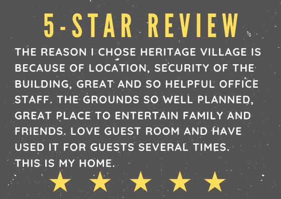 Heritage Village Residences 55+ Community