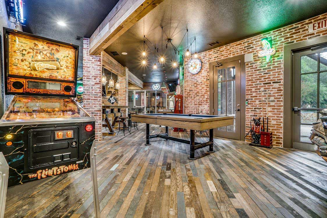 Game Room at Hidden Lakes Apartments in Haltom City, Texas