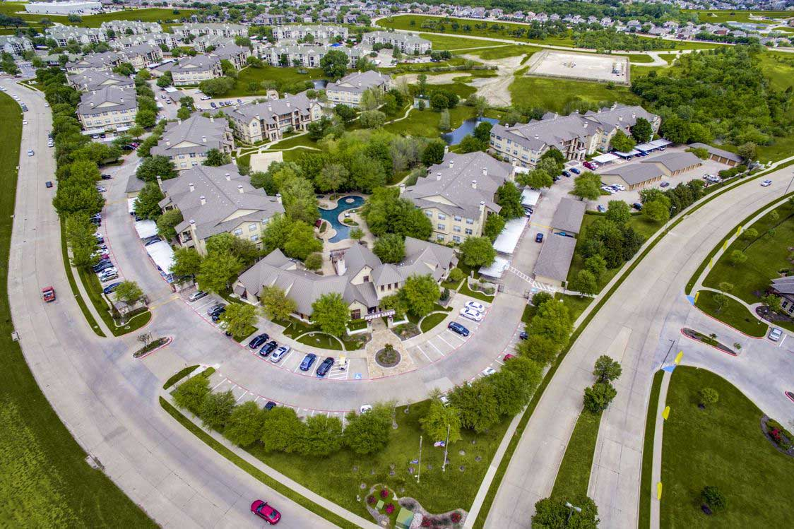 Located Off Major Highways at Hidden Lakes Apartments in Haltom City, Texas