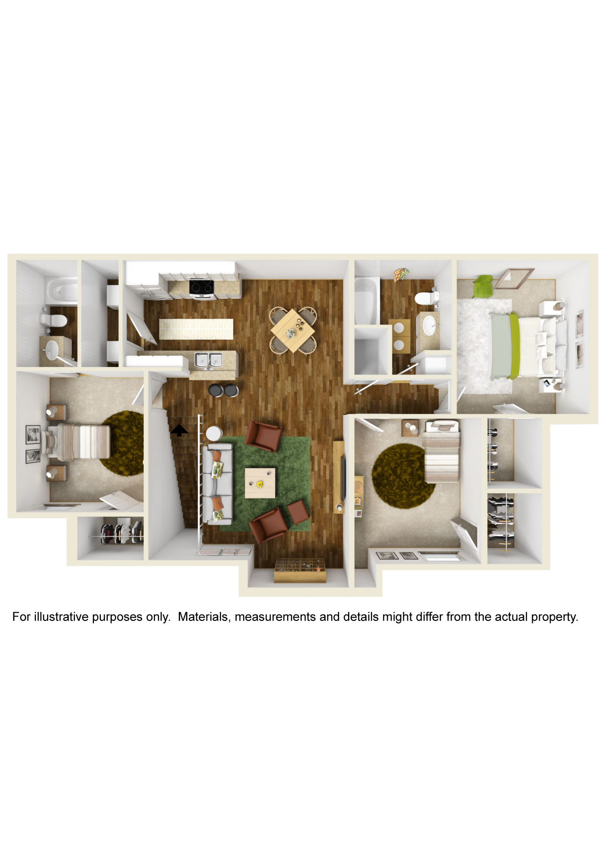 Floorplan - Unit C1 image