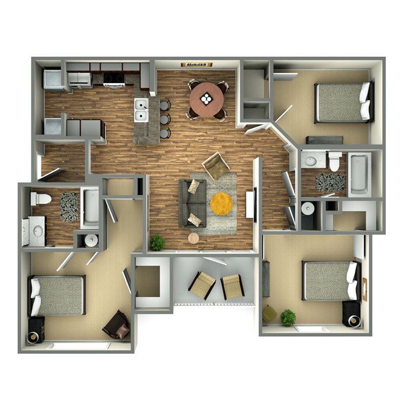 Informative Picture of Soho - 3 Bedroom - Affordable