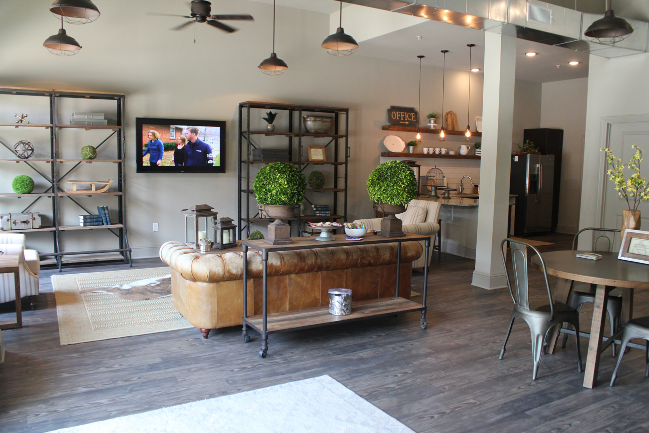 Spacious Interior at The District at Highland Village Apartments in Highland Village, TX