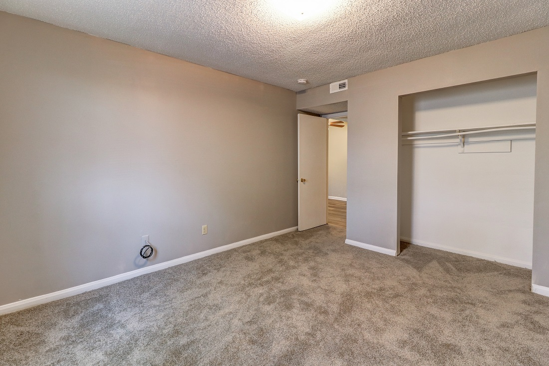Interior of a Bedroom at Hillwood Manor Apartments in Union City, TN