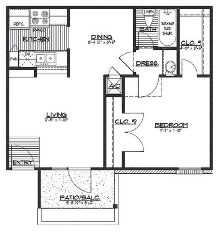 Floorplan - The Alder image