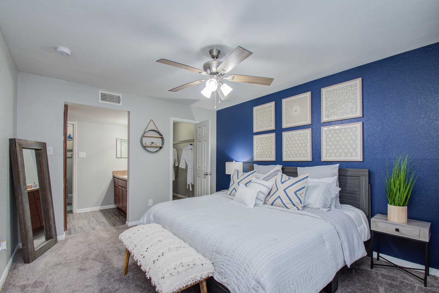Interior at HollyView Apartments in Houston, TX