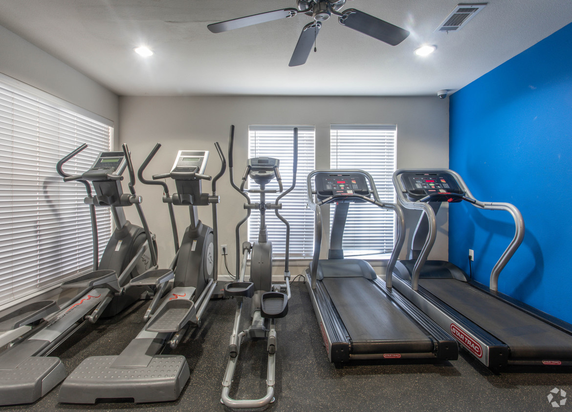 Ellipticals and Treadmills at Holly View apartments in Houston, TX