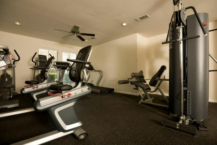 Fitness Center at the Holly View Apartments in Houston, TX