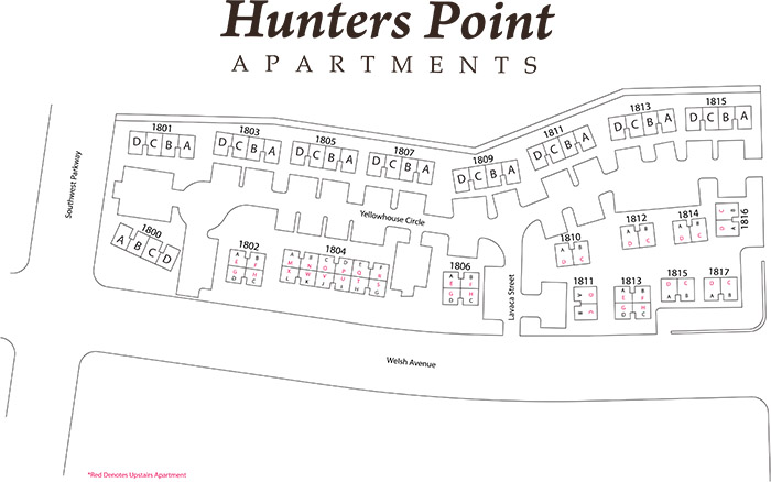 Hunters Point Apartments Site Plan