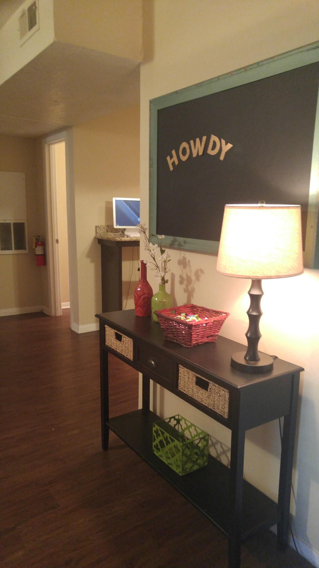 Interior at The Hunters Point Apartments in College Station, TX
