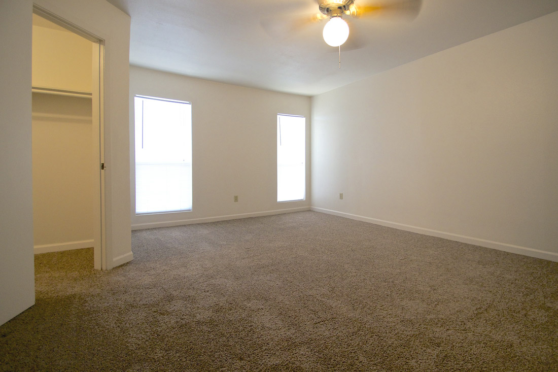 Open Living Areas  at Indian Run Apartments in Abilene, TX