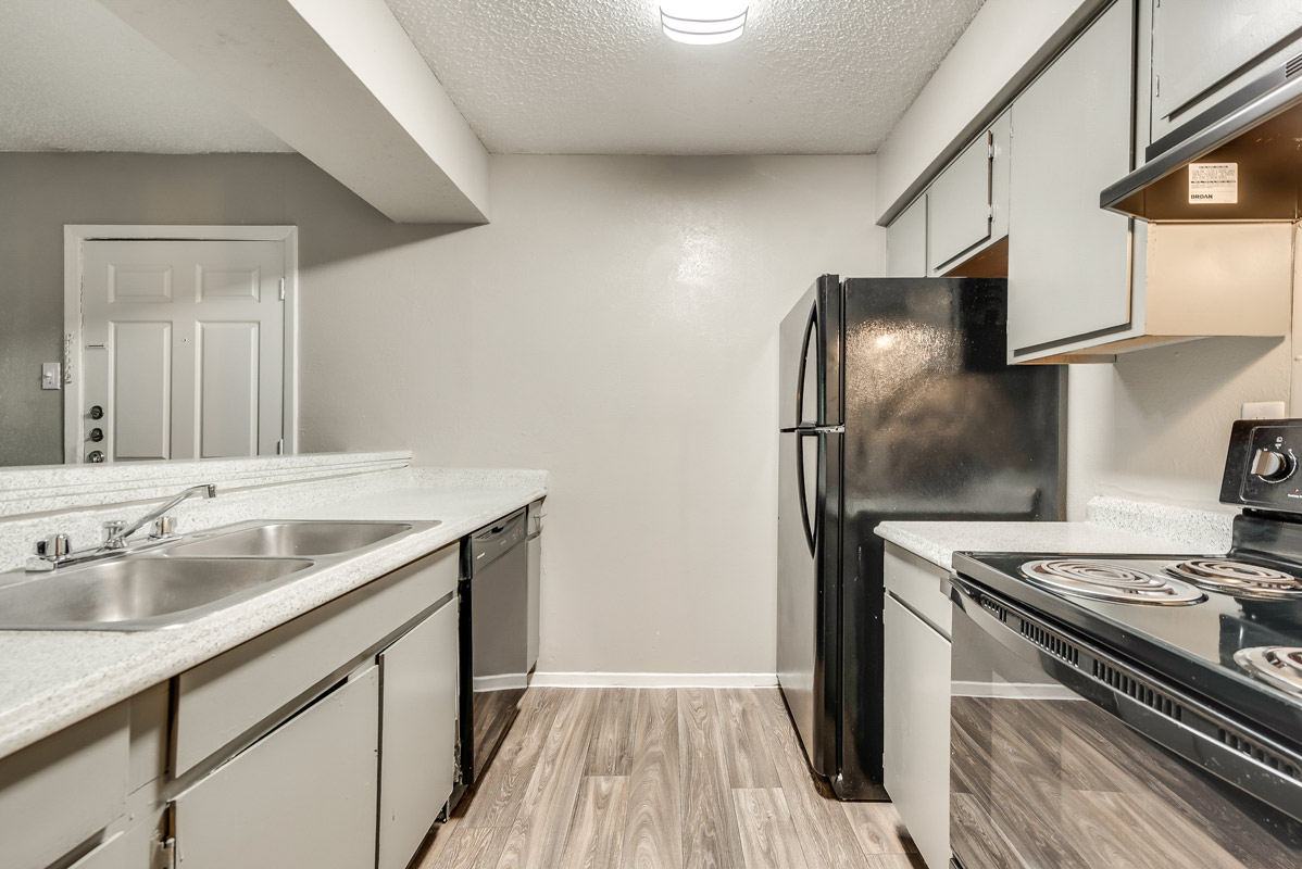 Kitchen Storage at Indigo Apartments in Dallas, TX