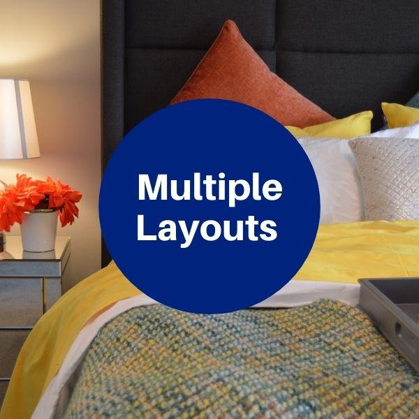 Floorplan - 1 Bedroom + 1 Bath image