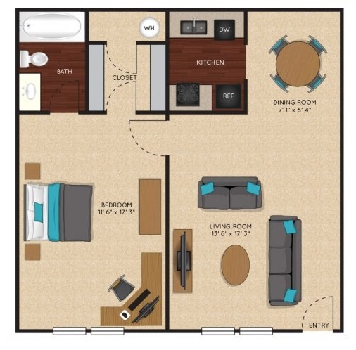 Jefferson on the Lake - Floorplan - Primrose