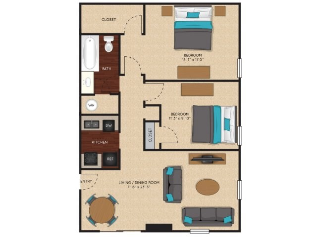 Floorplan - Sunflower image