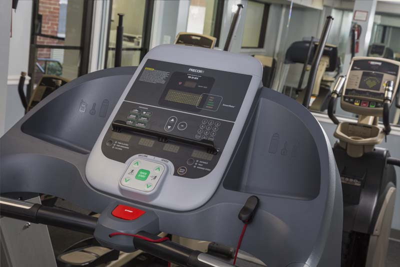 Exercise room at Kaywood Gardens Apartments in Mount Rainier, MD