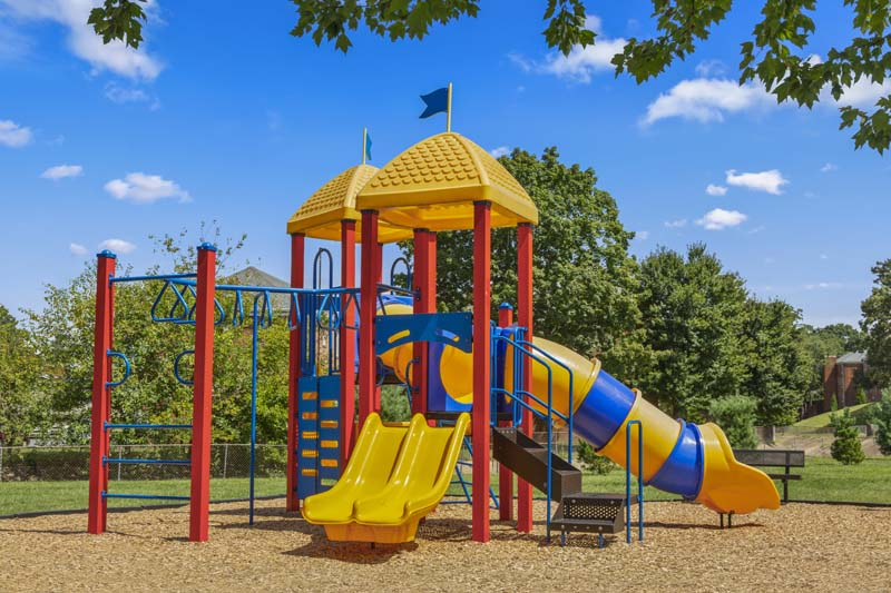 Play area at Kaywood Gardens Apartments in Mount Rainier, MD