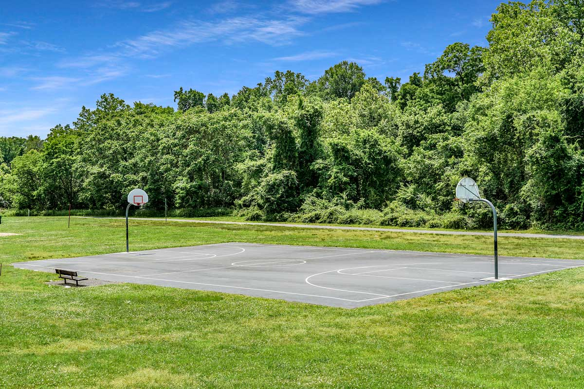Basketball court 8 minutes from Kaywood Gardens Apartments in Mount Rainier, MD
