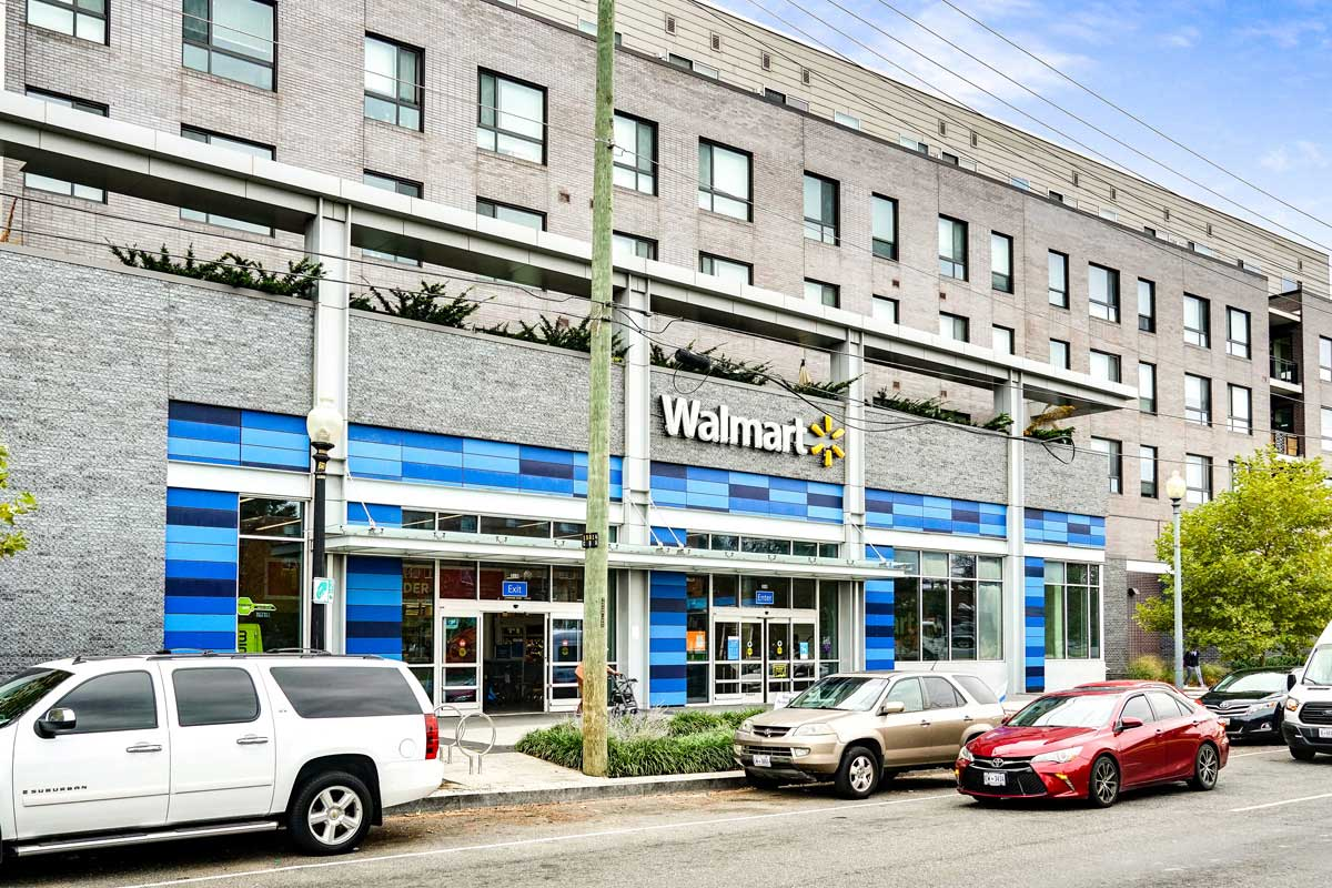 Walmart Supercenter is 5 minutes from Kaywood Gardens Apartments in Mount Rainier, MD