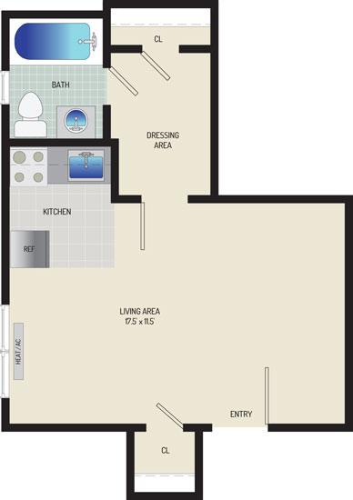 Kaywood Gardens Apartments - Apartment 08R100-A1-A