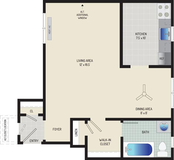 Kaywood Gardens Apartments - Apartment 08K302-2-E2