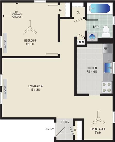 Kaywood Gardens Apartments - Apartment 082403-4-K1