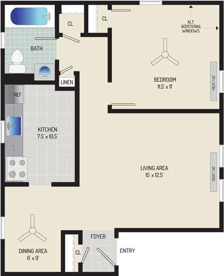 Kaywood Gardens Apartments - Apartment 082709-1-K2