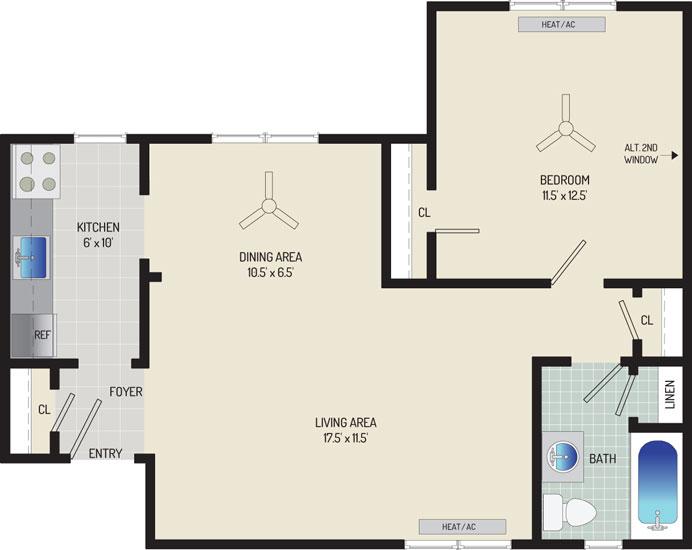 Kaywood Gardens Apartments - Apartment 08R209-1-L1