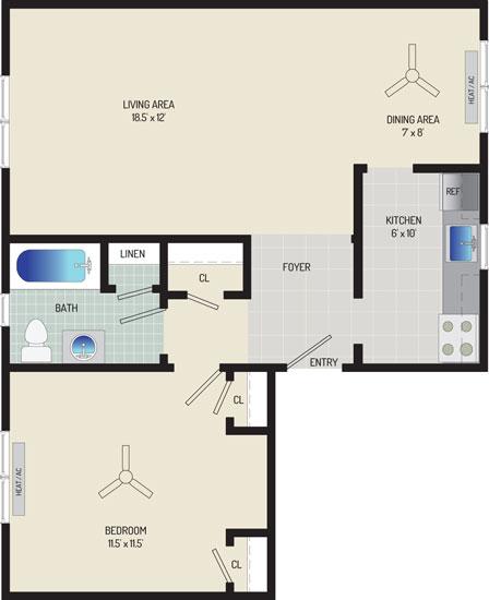Kaywood Gardens Apartments - Apartment 084204-3-R1