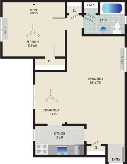 Kaywood Gardens Apartments - Apartment 08R317-2-U2
