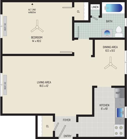 Kaywood Gardens Apartments - Apartment 08R202-1-ZA2