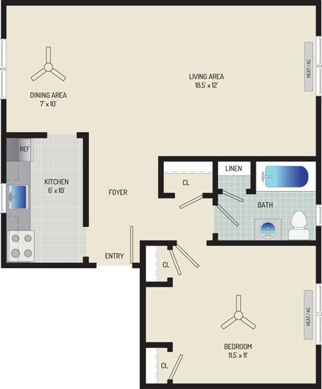 Kaywood Gardens Apartments - Apartment 08E205-A2-ZD2