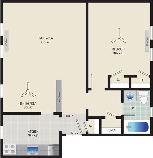 Kaywood Gardens Apartments - Apartment 08W712-3-ZH2