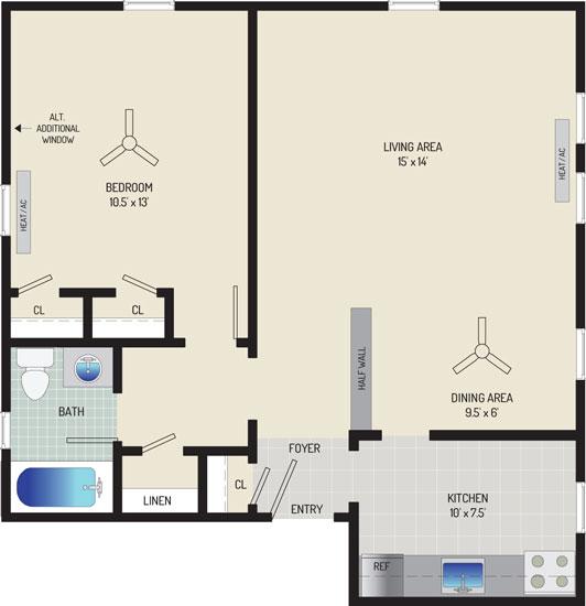 Kaywood Gardens Apartments - Apartment 08W706-2-ZI1