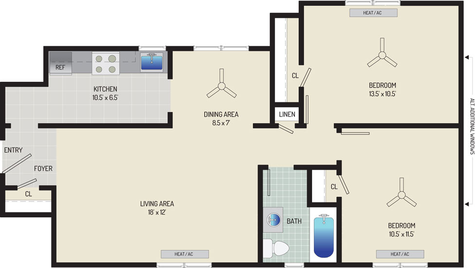 Kaywood Gardens Apartments - Apartment 08R206-7-ZO1