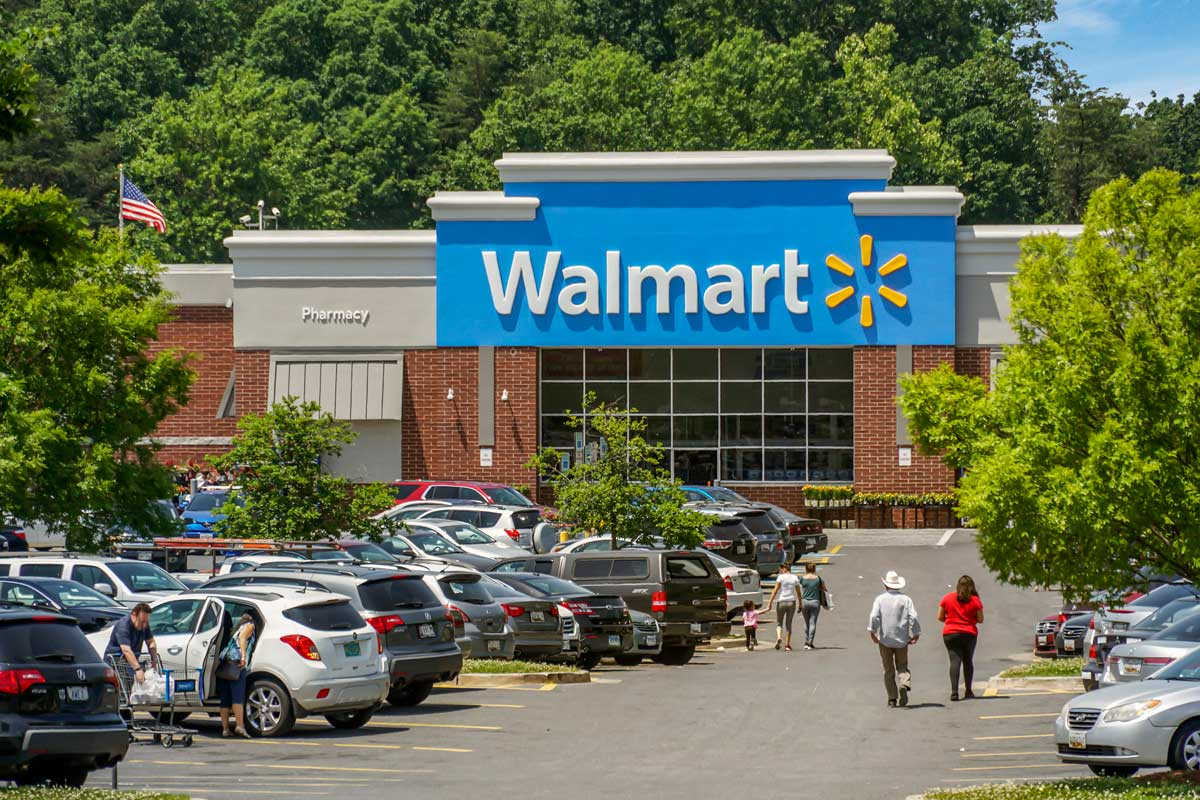 Walmart is 10 minutes from Kenilworth Towers Apartments in Bladensburg, MD