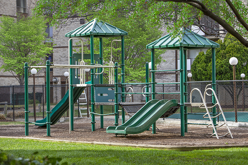Play area at Kenilworth Towers Apartments in Bladensburg, MD