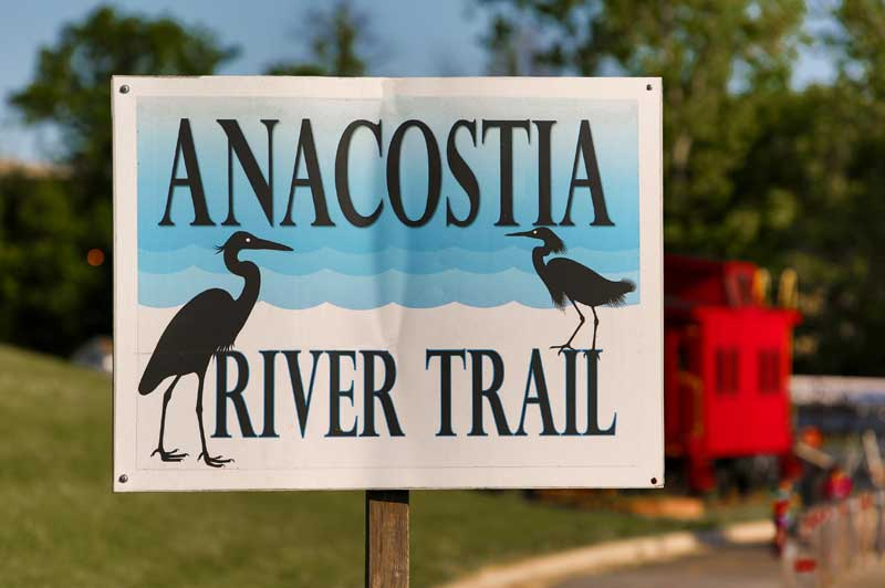 The Anacostia Trail System is 5 minutes from Kenilworth Towers Apartments