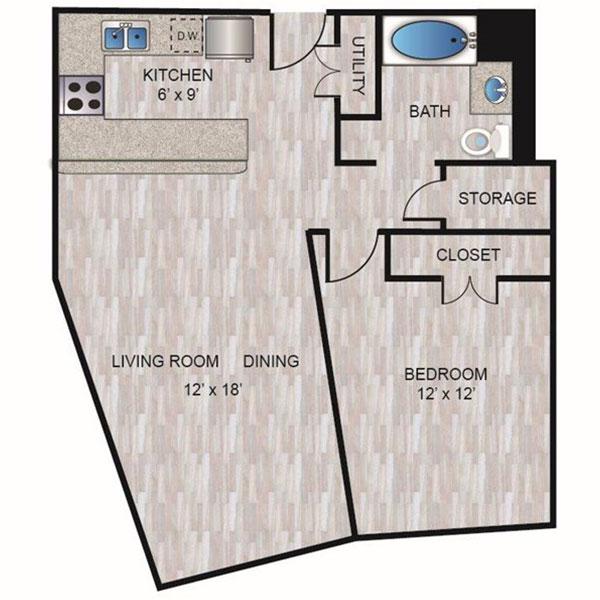 Floorplan - A2 image